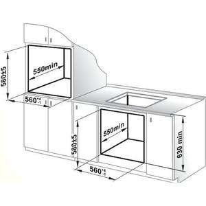 Встраиваемый комплект GEFEST ПВГ 2001 + ДА 602-01
