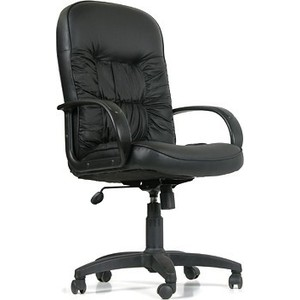Офисное кресло Chairman 416 ЭКО черный матовый