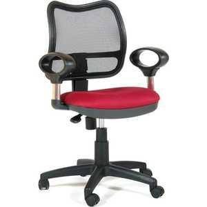 Офисное кресло Chairman 450 TW-13 красный цена 2017