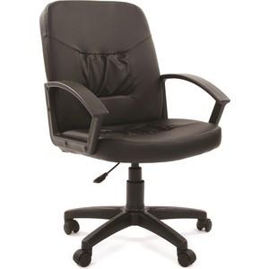chairman 769 черный хром Офисное кресло Chairman 651 ЭКО черный