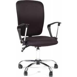 Офисное кресло Chairman 9801 хром, ткань черная все цены