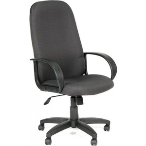 Офисное кресло Chairman 279 JP15-1 черно-серый компьютерное кресло chairman game 8 черно синий