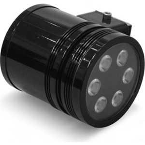 Светодиодный архитектурный светильник Estares MS-6L220V AC110-265V-15W (Теплый белый) Чёрный корпус цена