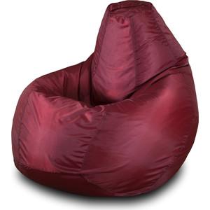 Кресло-мешок Груша Пазитифчик Бмо2 бордовый