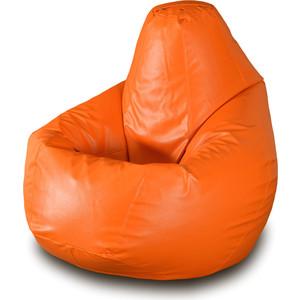 Кресло-мешок Груша Пазитифчик Бмэ1 оранжевый цена в Москве и Питере