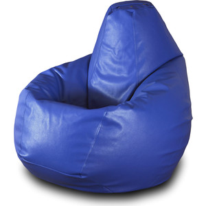 Кресло-мешок Груша Пазитифчик Бмэ4 синий