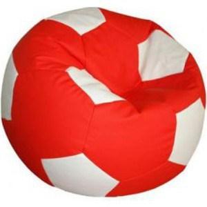 Кресло-мешок Мяч Пазитифчик Бмо7 красно-белый