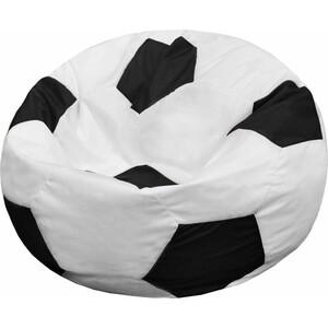 Кресло-мешок Мяч Пазитифчик Бмо7 бело-черный