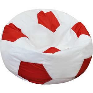 Кресло-мешок Мяч Пазитифчик Бмо8 бело-красный