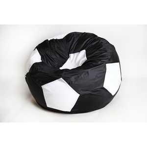 Кресло-мешок Мяч Пазитифчик Бмэ6 черно-белый