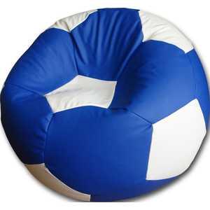 Кресло-мешок Мяч Пазитифчик Бмэ7 сине-белый