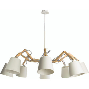Люстра Artelamp A5700LM-8WH люстра arte lamp pinoccio a5700lm 5bk