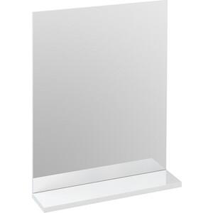 купить Зеркало с полкой Cersanit Melar 50 белое (B-LU-MEL) недорого