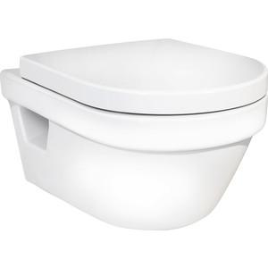 Унитаз подвесной Gustavsberg Hygienic Flush WWS безободковый с микролифтом (5G84HR01)