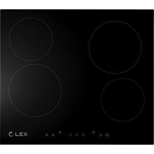 Электрическая варочная панель Lex EVH 640 BL цены