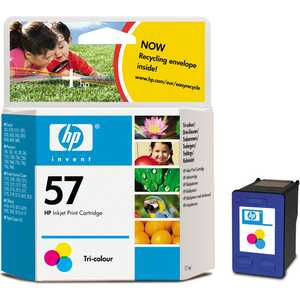 Картридж HP C6657AE t2 ic h6657 картридж для hp deskjet 450 5150 9650 photosmart 7150 7550 officejet 6110 57 цветной