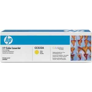 Картридж HP CB542A картридж hp q7582a для принтеров hp color laserjet 3800 желтый 6000 страниц