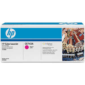 Картридж HP CE743A принтер hp color laserjet professional cp5225dn ce712a ce712a