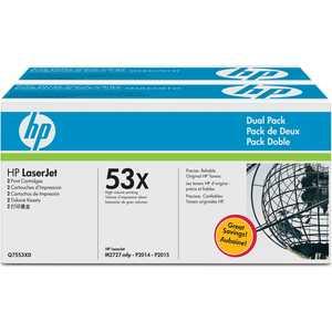 Картридж HP Q7553XD hp hp q7553xd black
