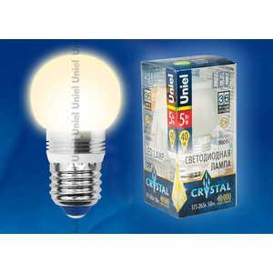 Светодиодная лампа Uniel LED-G45P-5W/WW/E27/FR ALC02SL