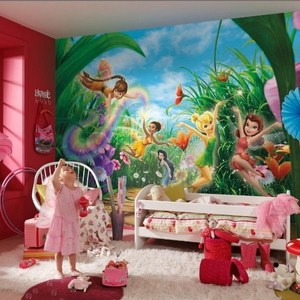 Фотообои Disney Edition 1 Fairies Meadow 368 х 254см. 1 school линейка magic fairies сердце