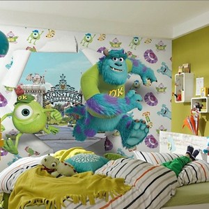Фотообои Disney Edition 1 Monsters University Wallbreaker 368 х 254см.