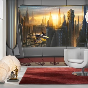 Фотообои Komar STAR WARS Coruscant View 368 х 254см. (8-483)