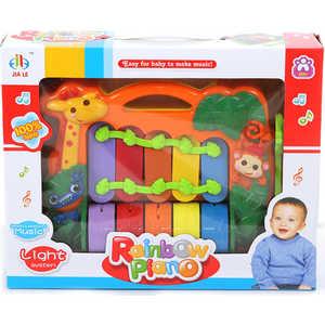 Развивающая игрушка Jia Le Toys Пианино Радуга 382 игрушка weina пианино со стулом 2079