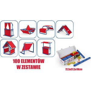 Игровой констуктор домик Keter Megado сине-красный 17200123 цена