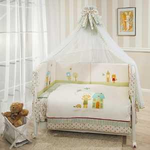 Комплект в кроватку 7 предметов Perina Глория Happy Days Г7-01.0