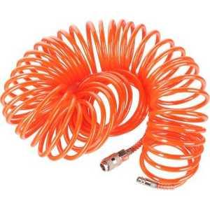 Шланг спиральный PATRIOT 8х6мм 15м 10 бар быстросъемный PU 15