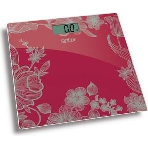 Весы напольные Sinbo SBS-4429, красный цена