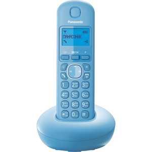 Радиотелефон Panasonic KX-TGB210RUF panasonic kx tg1611rur dect phone digital cordless telephone wireless phone system home telephone
