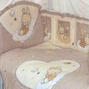 Комплект в кровать Золотой гусь 7 предметов Степашка бежевый 1923 постельный сет 7 предметов золотой гусь сладкий сон розовый