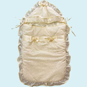 Конверт на выписку Золотой гусь Мечта молочный 6173 конверт меховой золотой гусь метелица бежевый