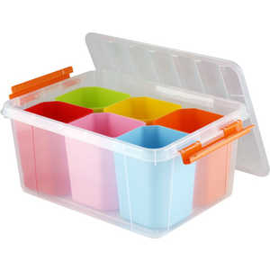 Ящик для игрушек Полимербыт Профи Kids 15л 50803