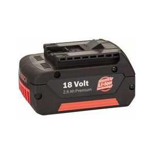 Аккумулятор Bosch 18В 2.6Ач Li-Ion (2.607.336.092) аккумуляторный гайковерт bosch gdx 180 li 0 601 9g5 220 18в 2х3 0ач li ion 180нм