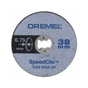 Отрезные круги Dremel 38мм 5-Pack SC409 EZ SpeedClic (2615S409JB)