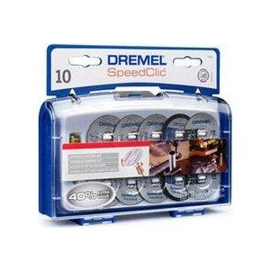 Набор для резки Dremel 11 предметов SC690 EZ SpeedClic (2615S690JA) gearmax laptop messenger bag 11 12 13 14 15 men s bag for macbook air pro 13 nylon waterproof notebook bag for xiaomi pro 15 6