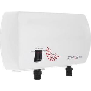 Проточный водонагреватель Atmor Basic 5 душ кран