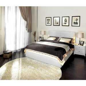 Кровать Аскона Greta 160х200 к/з White (Без основания)