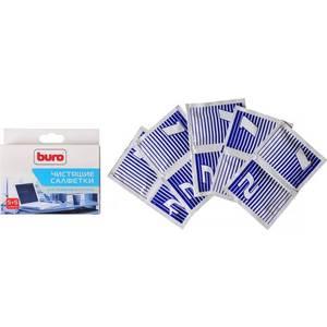 Чистящие средство Buro BU-W/D чистящие салфетки универсальные туба 5 шт влажных сухих