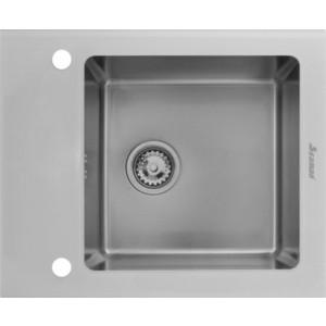 Кухонная мойка Seaman Eco Glass SMG-610W.B