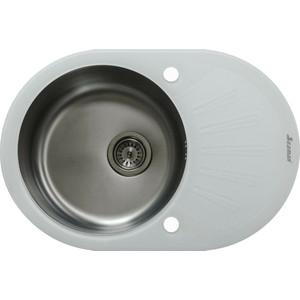 Кухонная мойка Seaman Eco Glass SMG-730W.B Gun PVD