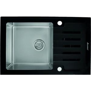 Фото - Кухонная мойка Seaman Eco Glass SMG-780B.B кухонная мойка seaman eco glass smg 730b b