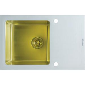 Кухонная мойка Seaman Eco Glass SMG-780W.B Gold PVD
