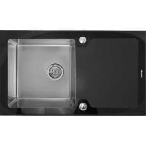 Фото - Кухонная мойка Seaman Eco Glass SMG-860B.B кухонная мойка seaman eco glass smg 730b b