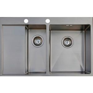 Кухонная мойка Seaman Eco Marino SMB-7851DLS.B кухонная мойка seaman eco marino smb 7851prs a