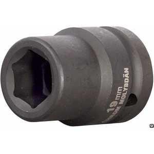 Головка торцевая ударная Kraftool 19мм 3/4'' Industrie Qualitat (27945-19-z01) головка торцевая ударная kraftool 46мм 3 4 industrie qualitat 27945 46 z01