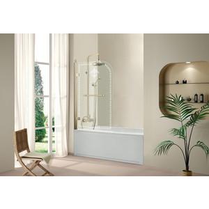Шторка на ванну Cezares RETRO-V-1-80/145-PP-G-L шторка для ванны cezares retro retro a v 1 80 145 cp g l